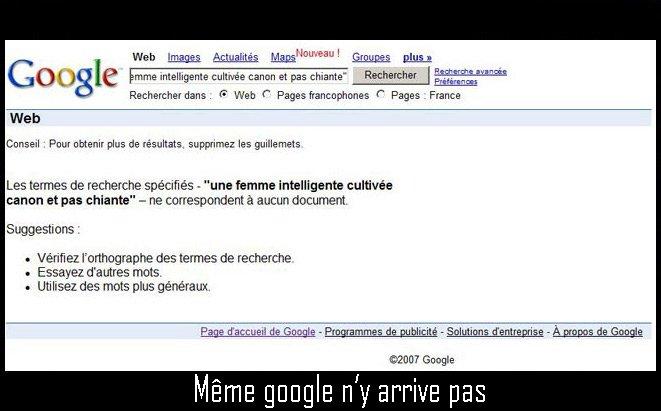 google femme